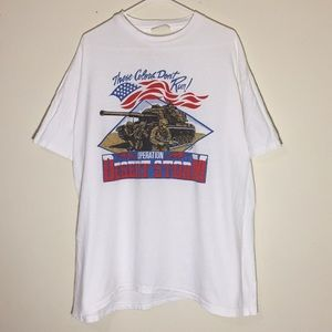 Vintage 1990s Operation Desert Storm T-Shirt